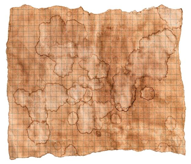 Texture De Papier Ancien, Fond De Papier Vintage, Papier Ancien Avec Des Taches De Café Brun Photo Premium