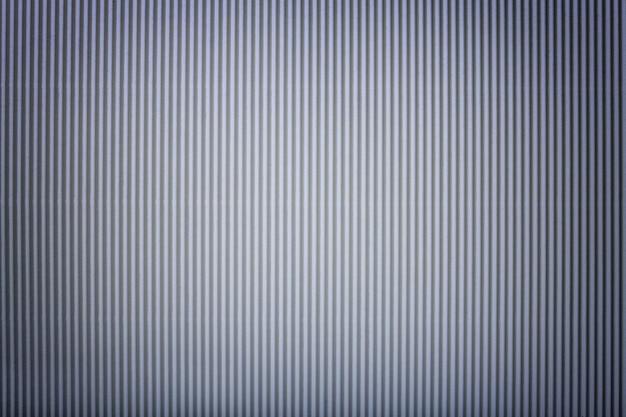Texture de papier argent ondulé avec vignette, macro. Photo Premium