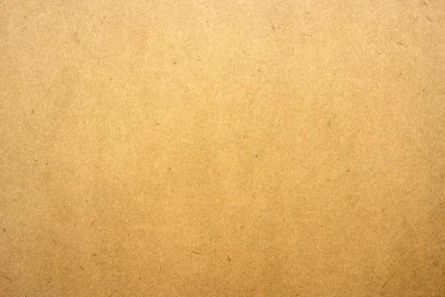 Texture De Papier Brun Ou De Carton Pour La Surface. Photo Premium