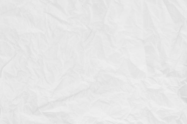 Texture de papier. feuille de papier froissé blanc | Télécharger des Photos Premium
