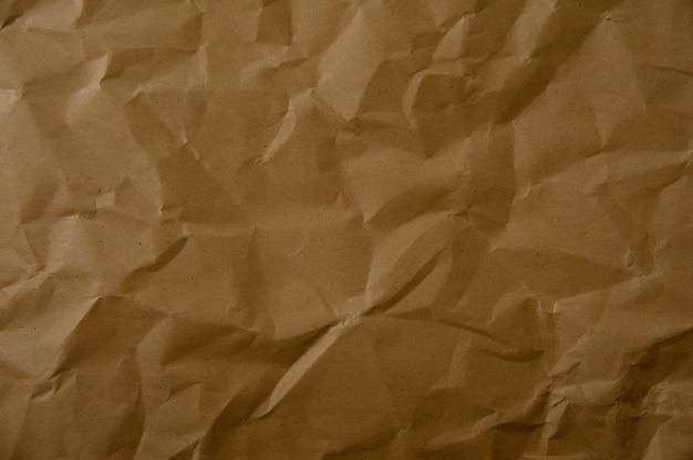 Texture De Papier Froissé Photo Premium