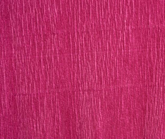 Texture De Papier Ondulé Rouge, Plein Cadre Photo Premium