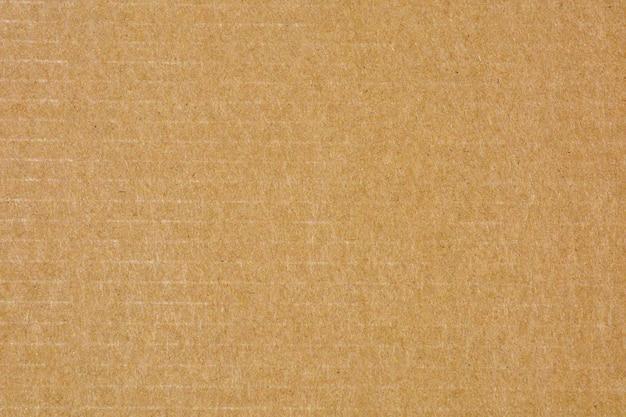 Texture de papier recyclé brun naturel - fond Photo Premium