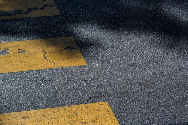 Texture de passage à zèbre Photo gratuit