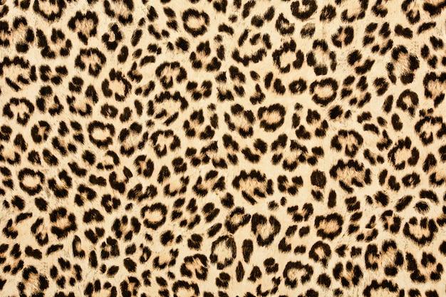 Texture De Peau De Léopard Photo Premium