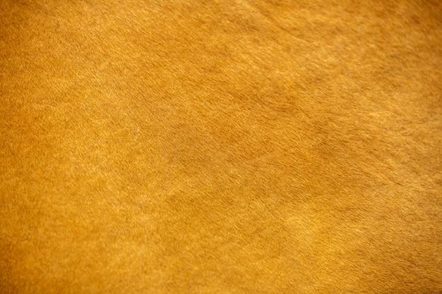 La texture de peau de vache, couleur rouge Photo Premium