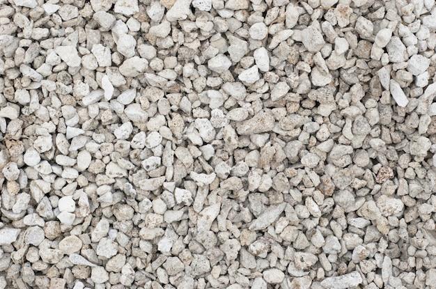 Texture de petites pierres concassées Photo Premium