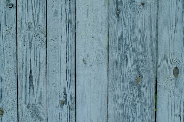 Texture De Planche De Bois Peint Vert Et Bleu Peint Craquelé Photo Premium