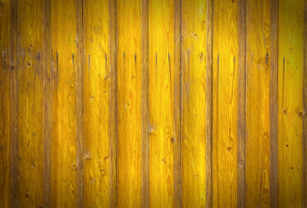 Texture de planches de bois Photo Premium