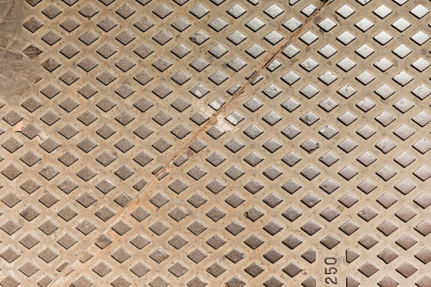 Texture de la plaque de métal Photo gratuit