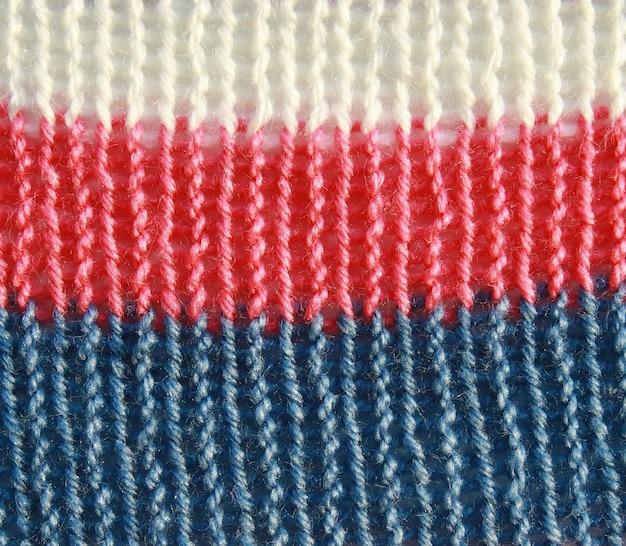 Texture De Pull Coloré Photo Premium