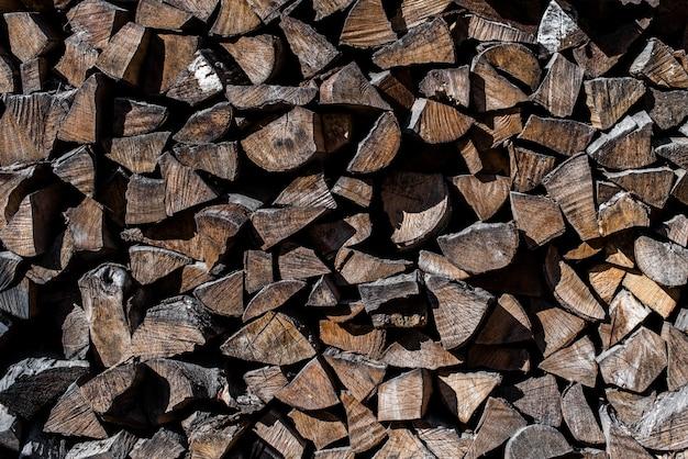 Texture Des Rondins De Bois Télécharger Des Photos Premium