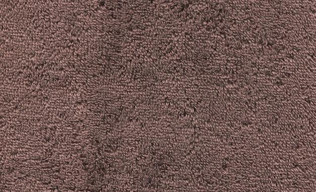 Texture serviette marron Photo Premium