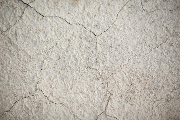 La texture de la terre dans les fissures Photo Premium