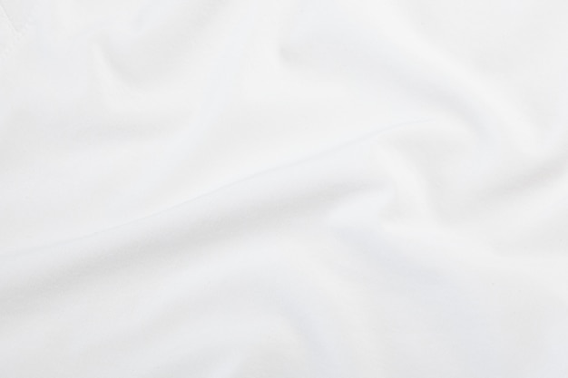 Texture de tissu blanc, motif en tissu. Photo Premium