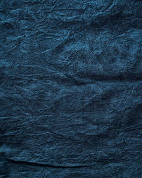Texture de tissu bleu Photo gratuit