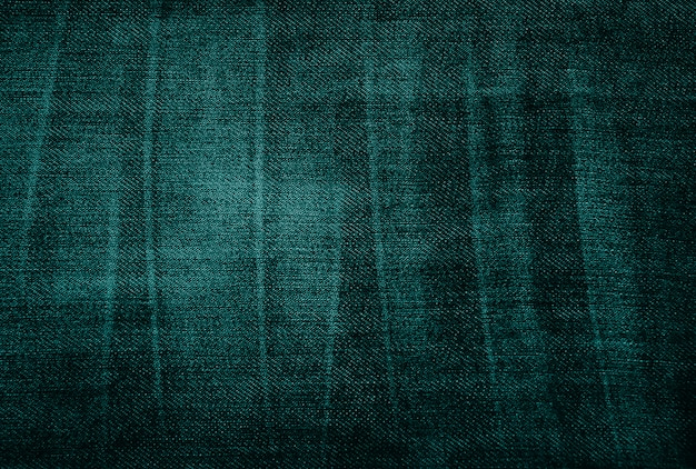 Texture de tissu vert usé vintage Photo Premium