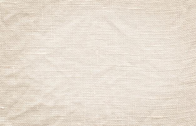 Texture de toile blanche. fond de lin blanc naturel Photo Premium
