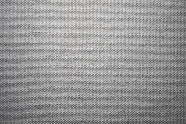 Texture de toile blanche. Photo Premium