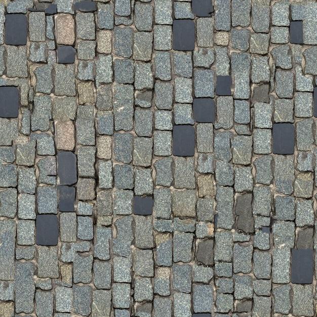 Texture Transparente De Bloc De Pierre Gris Foncé. (orientation Verticale). Photo Premium