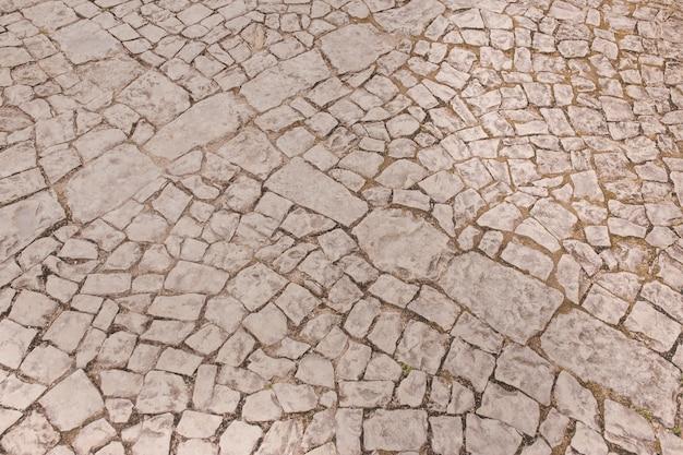 Texture transparente de la chaussée de pierre Photo gratuit