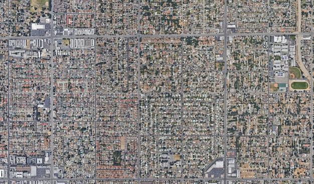 Texture vue satellite Photo Premium