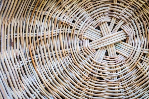 Textures de base en osier Photo gratuit