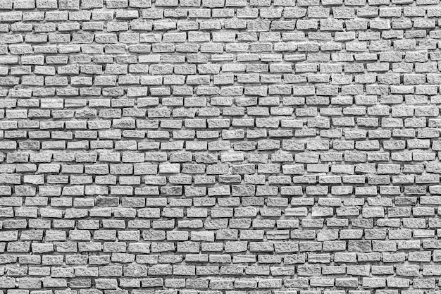 Textures et fond de briques blanches et grises Photo gratuit