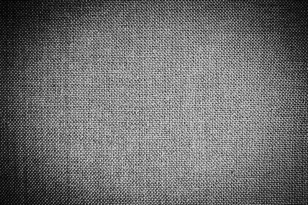 Textures et surface en coton noir Photo gratuit