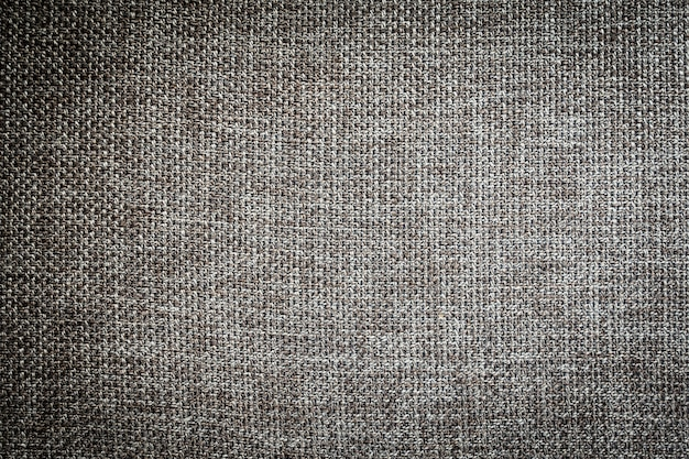 Textures et surfaces en toile de coton gris et noir Photo gratuit