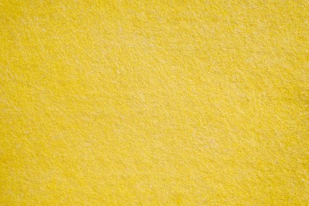 Textures textiles jaunes, gros plan Photo Premium