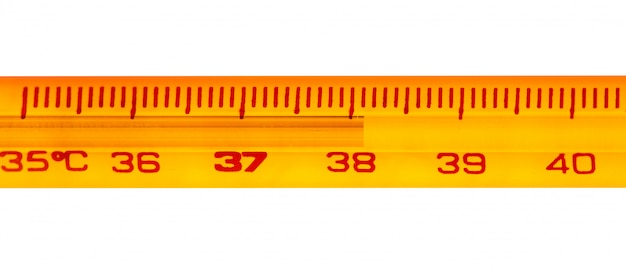 Thermomètre à mercure Photo Premium