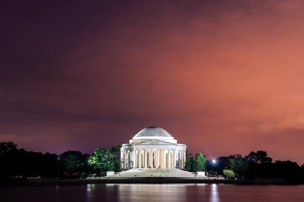 Thomas jefferson memorial washington dc, états-unis d'amérique Photo Premium