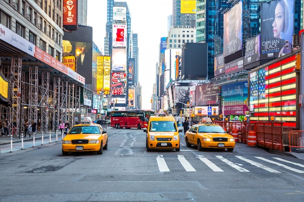 Times square à new york Photo Premium
