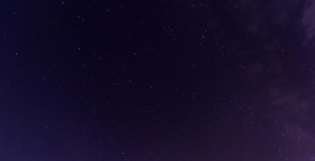 Tir coloré montrant la voie lactée de l'univers Photo Premium