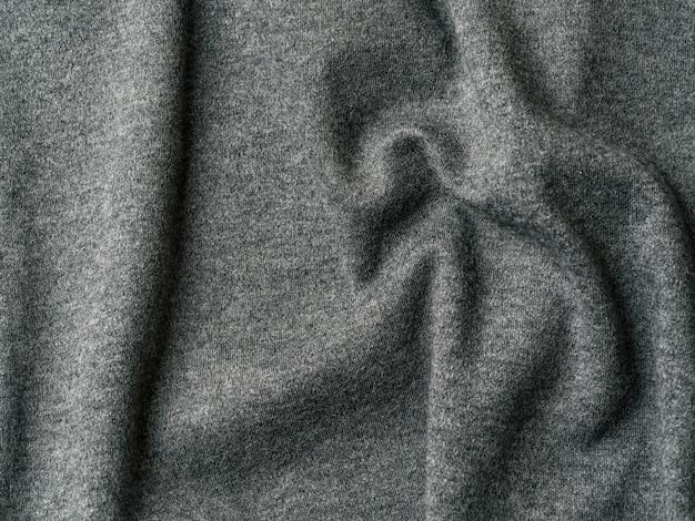 Tissu en jersey de coton gris Photo Premium