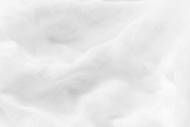 Tissu De Luxe Abstrait Fond Blanc Photo Premium