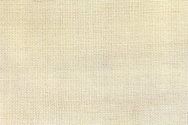 Tissu naturel en coton lin, texture de fond écologique Photo Premium