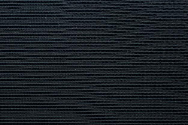 Tissu texturé noir Photo gratuit