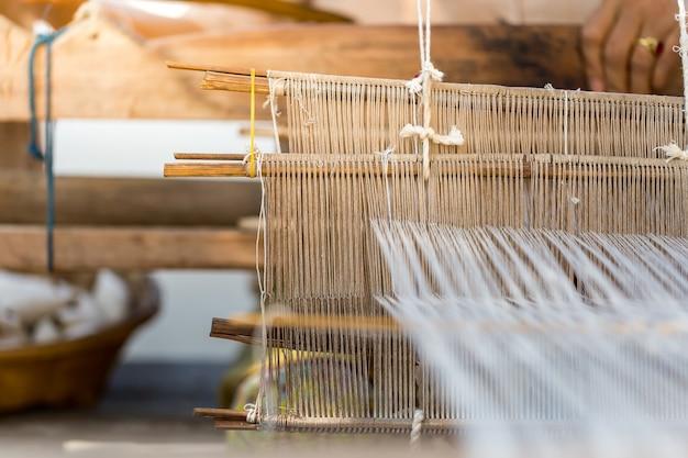 Tissus des communautés du nord de chiang mai, espace de copie. Photo Premium