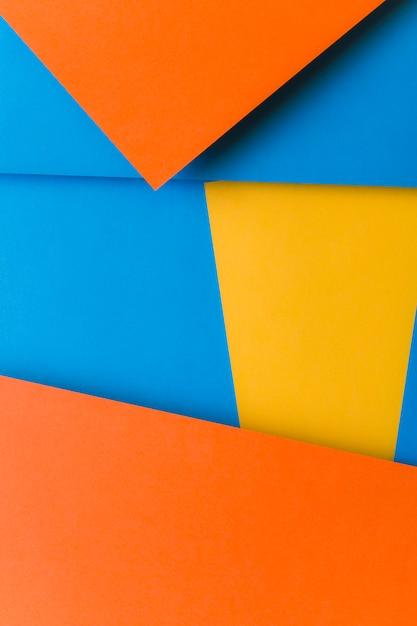 Toile de fond abstrait papier coloré Photo gratuit