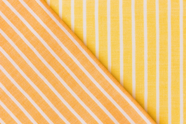 Toile de fond en tissu jaune et orange Photo gratuit