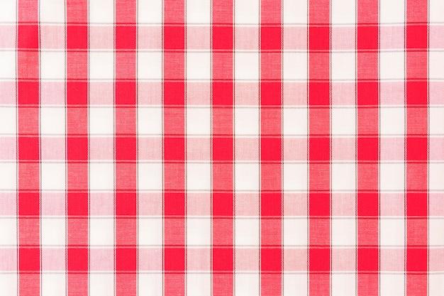 Toile de fond transparente de tissu à carreaux Photo gratuit