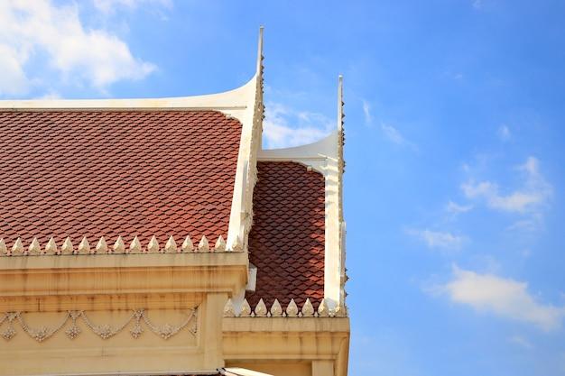 Toit Du Temple Thaïlandais Photo Premium