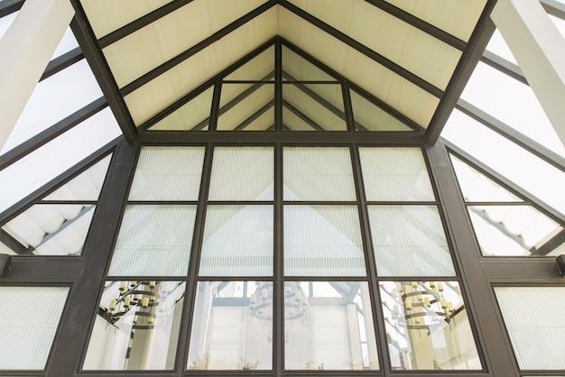 Mur de verre de l immeuble de bureaux moderne photo stock image