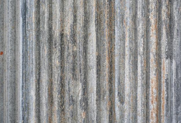 Tôle d'acier ondulée utile comme arrière-plan Photo Premium