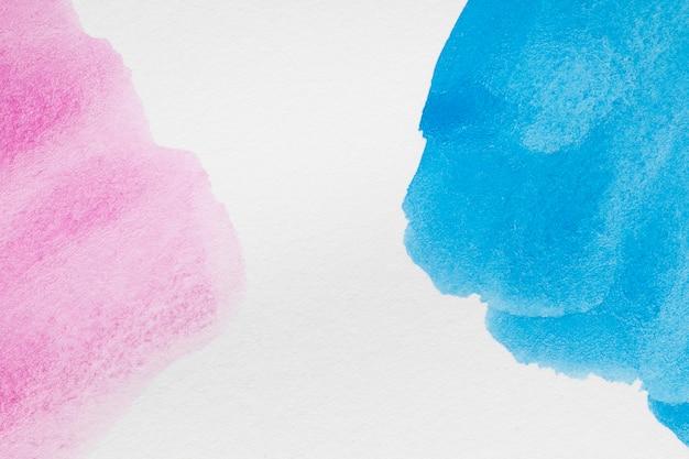 Tons pastel bleus et roses pâles Photo gratuit