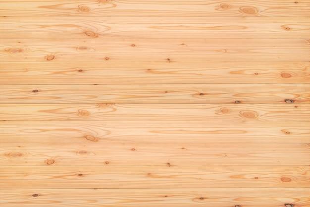 Top viwe de la texture du bois de pin rouge, bois naturel pour le fond. Photo Premium
