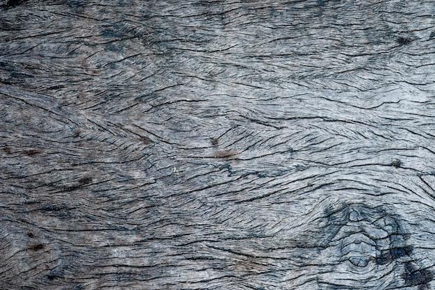 Top viwe de la texture du bois vieux, bois foncé naturel pour le fond. Photo Premium