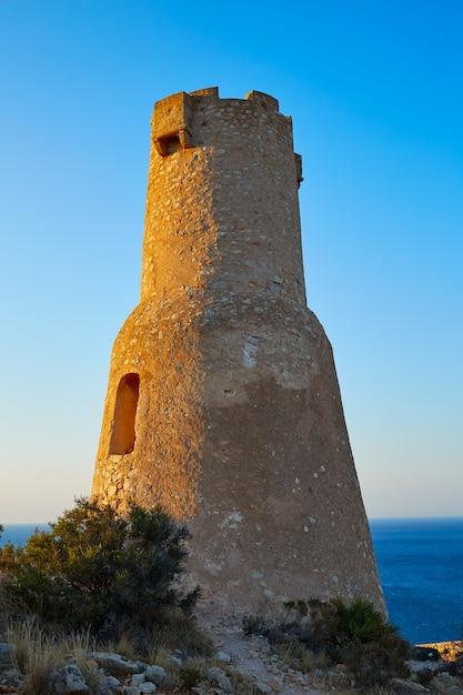 Torre del gerro à denia d'alicante Photo Premium